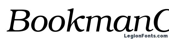 BookmanCTT Italic Font