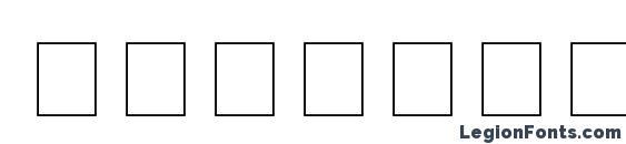 Шрифт Bookshelf Symbol 5