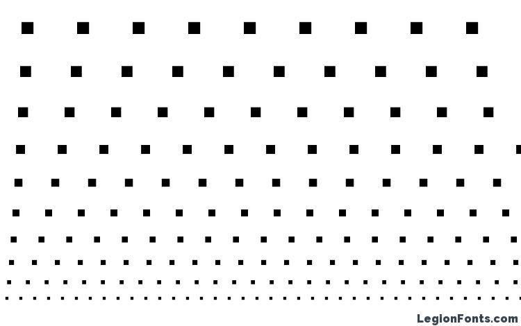 Specimens Bookshelf Symbol 7 Font Sample An Example Of Writing