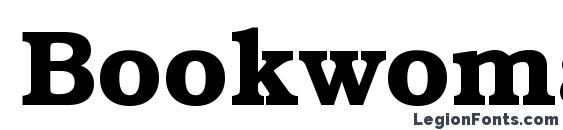 шрифт Bookwoman DemiSH, бесплатный шрифт Bookwoman DemiSH, предварительный просмотр шрифта Bookwoman DemiSH