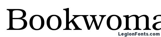 Bookwoman LightSH Font