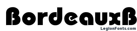 BordeauxBlack Regular font, free BordeauxBlack Regular font, preview BordeauxBlack Regular font