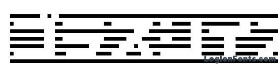 шрифт Border7ka, бесплатный шрифт Border7ka, предварительный просмотр шрифта Border7ka