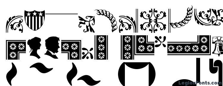 глифы шрифта Bordersornament1, символы шрифта Bordersornament1, символьная карта шрифта Bordersornament1, предварительный просмотр шрифта Bordersornament1, алфавит шрифта Bordersornament1, шрифт Bordersornament1
