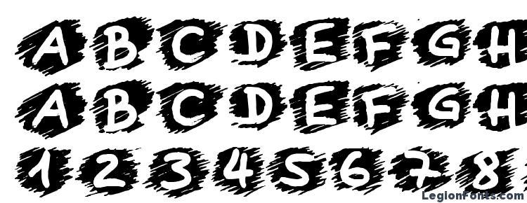 glyphs Boring Lesson font, сharacters Boring Lesson font, symbols Boring Lesson font, character map Boring Lesson font, preview Boring Lesson font, abc Boring Lesson font, Boring Lesson font