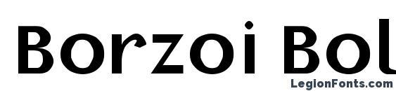 Borzoi Bold Font