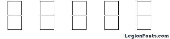 Boxes Font