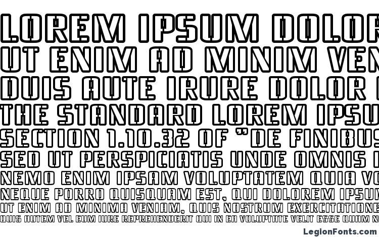 specimens Braeside Outline font, sample Braeside Outline font, an example of writing Braeside Outline font, review Braeside Outline font, preview Braeside Outline font, Braeside Outline font