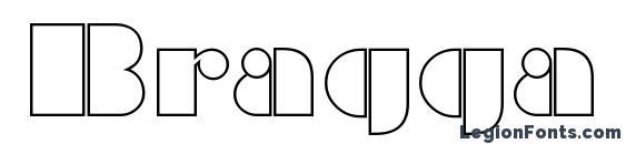 Шрифт Bragga 2