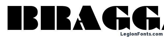Шрифт Bragga 6