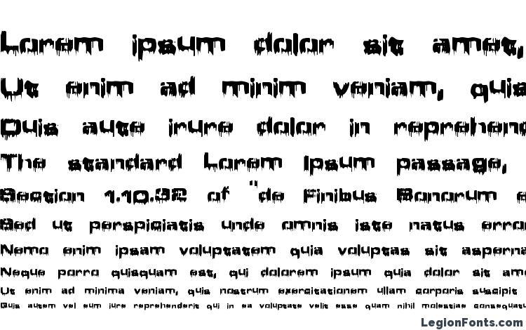 specimens Brain Damage font, sample Brain Damage font, an example of writing Brain Damage font, review Brain Damage font, preview Brain Damage font, Brain Damage font