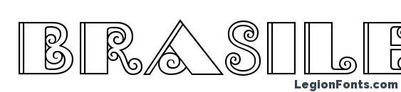 Шрифт Brasileiro Two Medium