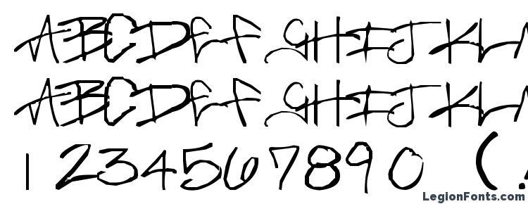 glyphs Brass Monkey font, сharacters Brass Monkey font, symbols Brass Monkey font, character map Brass Monkey font, preview Brass Monkey font, abc Brass Monkey font, Brass Monkey font