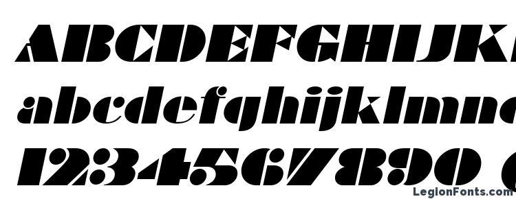 глифы шрифта Bravado Italic, символы шрифта Bravado Italic, символьная карта шрифта Bravado Italic, предварительный просмотр шрифта Bravado Italic, алфавит шрифта Bravado Italic, шрифт Bravado Italic