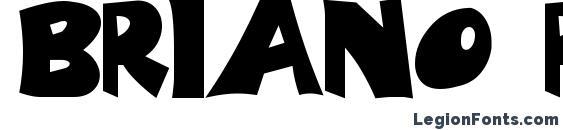 BRIANO Regular Font