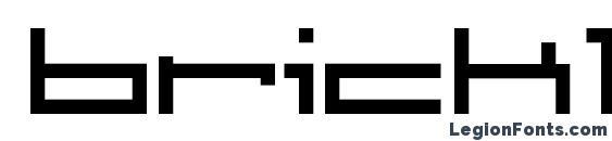 brickle Font