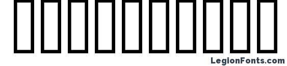 Bridges500 Font