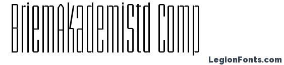 BriemAkademiStd Comp Font