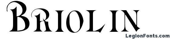 Briolin Font