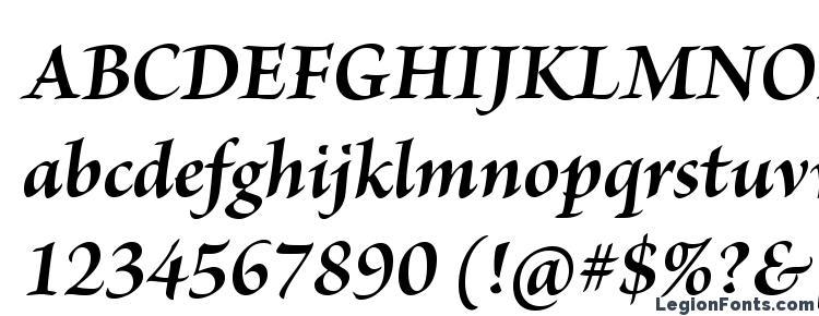 глифы шрифта BriosoPro BoldItSubh, символы шрифта BriosoPro BoldItSubh, символьная карта шрифта BriosoPro BoldItSubh, предварительный просмотр шрифта BriosoPro BoldItSubh, алфавит шрифта BriosoPro BoldItSubh, шрифт BriosoPro BoldItSubh