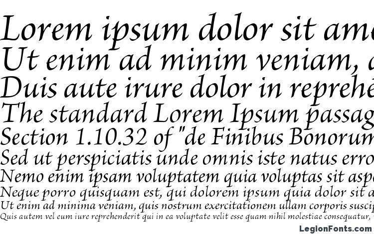 specimens BriosoPro Italic font, sample BriosoPro Italic font, an example of writing BriosoPro Italic font, review BriosoPro Italic font, preview BriosoPro Italic font, BriosoPro Italic font