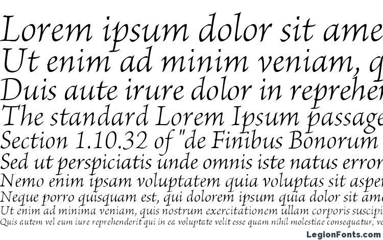 specimens BriosoPro LightIt font, sample BriosoPro LightIt font, an example of writing BriosoPro LightIt font, review BriosoPro LightIt font, preview BriosoPro LightIt font, BriosoPro LightIt font
