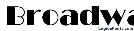 Шрифт Broadway Cyrillic