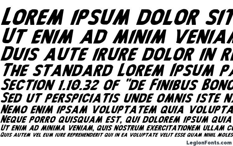 specimens Bronic Italic font, sample Bronic Italic font, an example of writing Bronic Italic font, review Bronic Italic font, preview Bronic Italic font, Bronic Italic font
