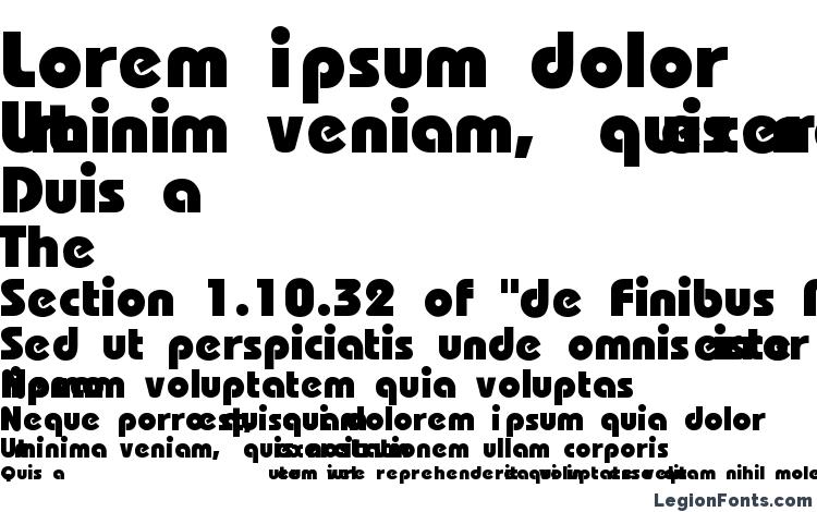 specimens Brookhouse Heavy font, sample Brookhouse Heavy font, an example of writing Brookhouse Heavy font, review Brookhouse Heavy font, preview Brookhouse Heavy font, Brookhouse Heavy font