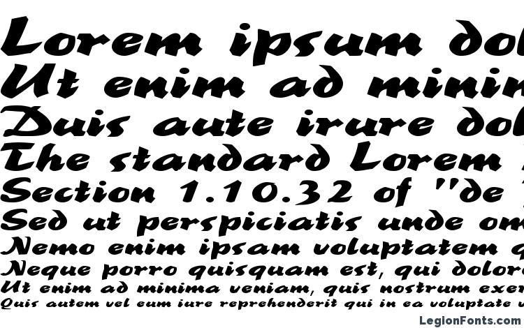 specimens BrookscriptWide Regular font, sample BrookscriptWide Regular font, an example of writing BrookscriptWide Regular font, review BrookscriptWide Regular font, preview BrookscriptWide Regular font, BrookscriptWide Regular font