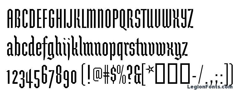 глифы шрифта BrunnhildeOne, символы шрифта BrunnhildeOne, символьная карта шрифта BrunnhildeOne, предварительный просмотр шрифта BrunnhildeOne, алфавит шрифта BrunnhildeOne, шрифт BrunnhildeOne