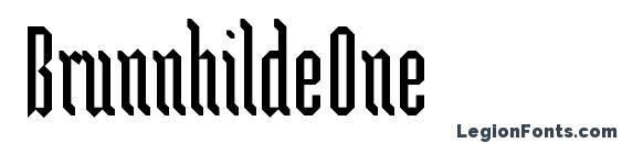 BrunnhildeOne Font