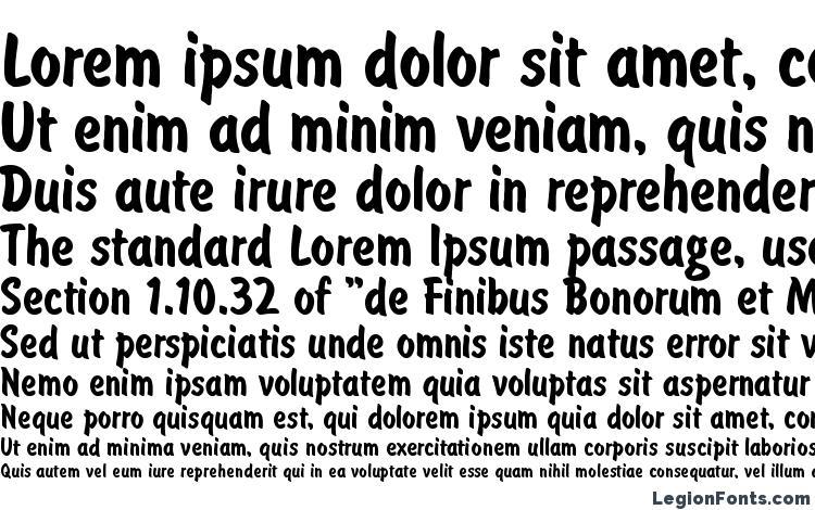 specimens Brus typ font, sample Brus typ font, an example of writing Brus typ font, review Brus typ font, preview Brus typ font, Brus typ font
