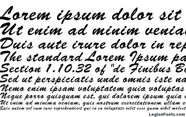 specimens Brush Normal font, sample Brush Normal font, an example of writing Brush Normal font, review Brush Normal font, preview Brush Normal font, Brush Normal font