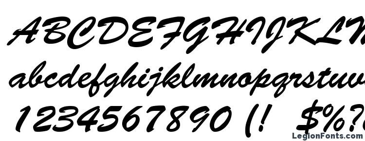 glyphs Brush Script LT font, сharacters Brush Script LT font, symbols Brush Script LT font, character map Brush Script LT font, preview Brush Script LT font, abc Brush Script LT font, Brush Script LT font