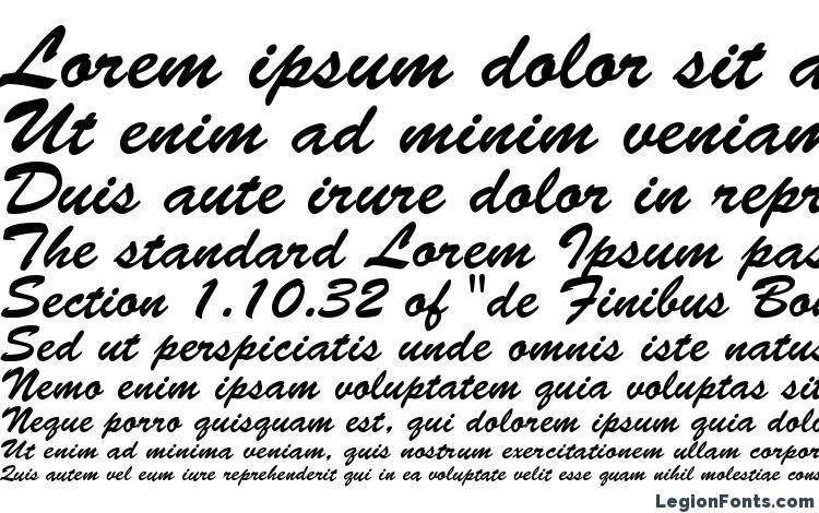 specimens Brush Script LT font, sample Brush Script LT font, an example of writing Brush Script LT font, review Brush Script LT font, preview Brush Script LT font, Brush Script LT font