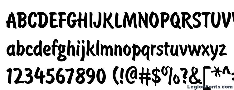 glyphs Brushtype semibold regular font, сharacters Brushtype semibold regular font, symbols Brushtype semibold regular font, character map Brushtype semibold regular font, preview Brushtype semibold regular font, abc Brushtype semibold regular font, Brushtype semibold regular font