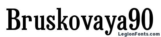 Bruskovaya90 Font