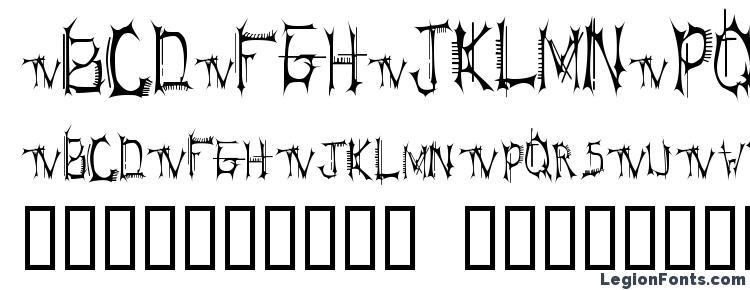 глифы шрифта BT Speartooth TRIAL VERSION, символы шрифта BT Speartooth TRIAL VERSION, символьная карта шрифта BT Speartooth TRIAL VERSION, предварительный просмотр шрифта BT Speartooth TRIAL VERSION, алфавит шрифта BT Speartooth TRIAL VERSION, шрифт BT Speartooth TRIAL VERSION
