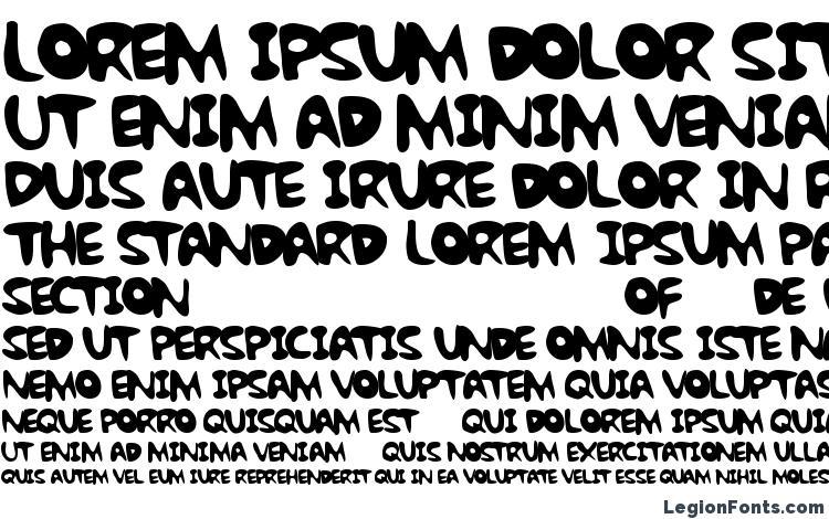 specimens Bubble gum rock btrial font, sample Bubble gum rock btrial font, an example of writing Bubble gum rock btrial font, review Bubble gum rock btrial font, preview Bubble gum rock btrial font, Bubble gum rock btrial font
