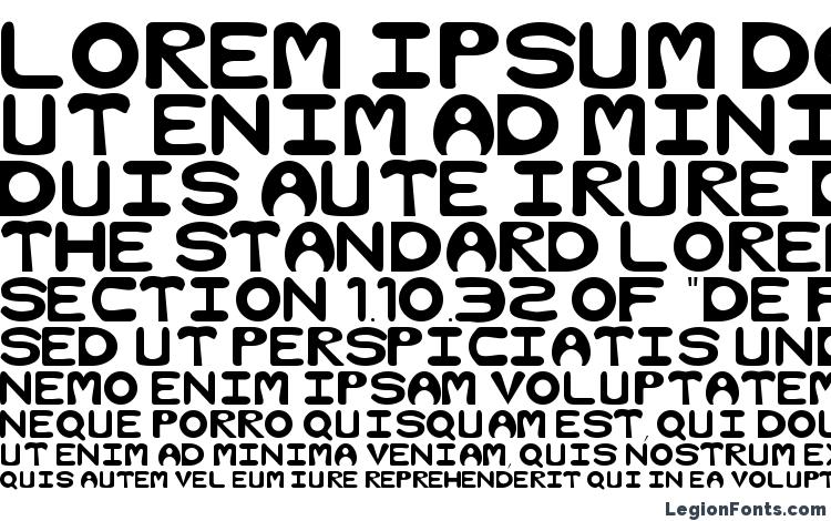 specimens Bubble Regular font, sample Bubble Regular font, an example of writing Bubble Regular font, review Bubble Regular font, preview Bubble Regular font, Bubble Regular font