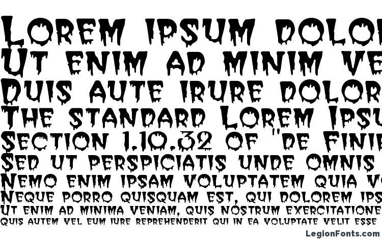 specimens Bugaboo SSi font, sample Bugaboo SSi font, an example of writing Bugaboo SSi font, review Bugaboo SSi font, preview Bugaboo SSi font, Bugaboo SSi font