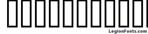 Шрифт Buildings500