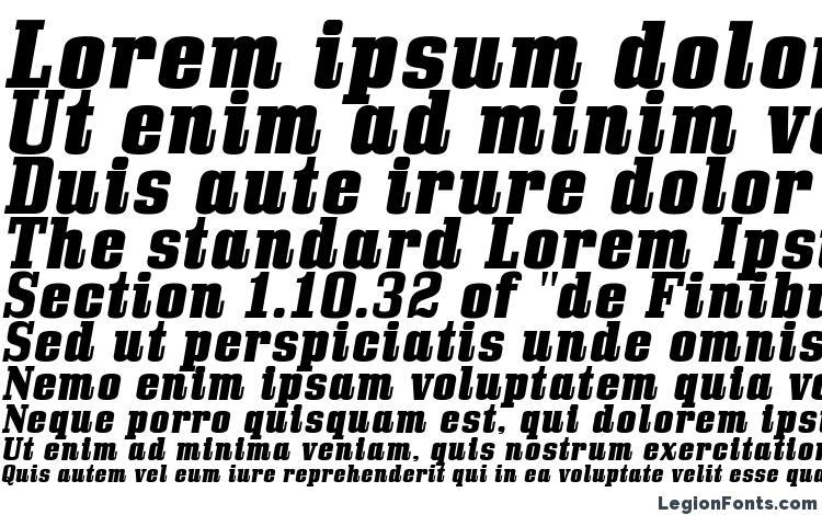 specimens BullpenHv Italic font, sample BullpenHv Italic font, an example of writing BullpenHv Italic font, review BullpenHv Italic font, preview BullpenHv Italic font, BullpenHv Italic font