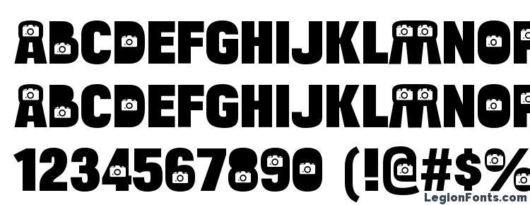 glyphs BulltoadCamera Regular font, сharacters BulltoadCamera Regular font, symbols BulltoadCamera Regular font, character map BulltoadCamera Regular font, preview BulltoadCamera Regular font, abc BulltoadCamera Regular font, BulltoadCamera Regular font