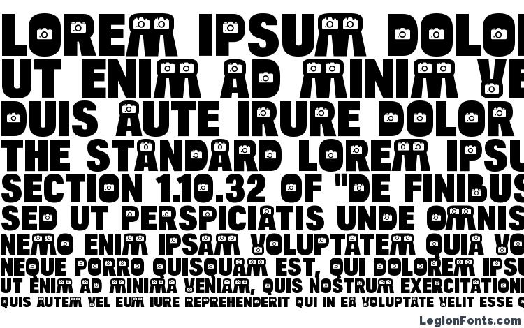 specimens BulltoadCamera Regular font, sample BulltoadCamera Regular font, an example of writing BulltoadCamera Regular font, review BulltoadCamera Regular font, preview BulltoadCamera Regular font, BulltoadCamera Regular font