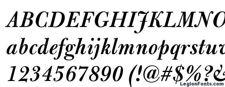 глифы шрифта BulmerMTStd SemiBoldItalic, символы шрифта BulmerMTStd SemiBoldItalic, символьная карта шрифта BulmerMTStd SemiBoldItalic, предварительный просмотр шрифта BulmerMTStd SemiBoldItalic, алфавит шрифта BulmerMTStd SemiBoldItalic, шрифт BulmerMTStd SemiBoldItalic