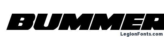 Bummer Italic font, free Bummer Italic font, preview Bummer Italic font