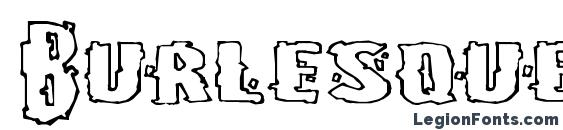 Burlesque Font