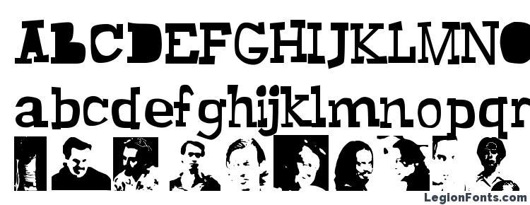 glyphs Buscemi font, сharacters Buscemi font, symbols Buscemi font, character map Buscemi font, preview Buscemi font, abc Buscemi font, Buscemi font